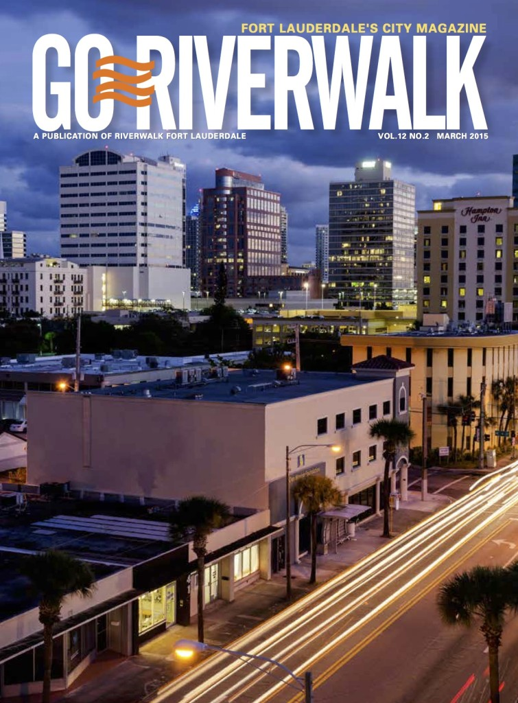 March 2015 Go Riverwalk cover