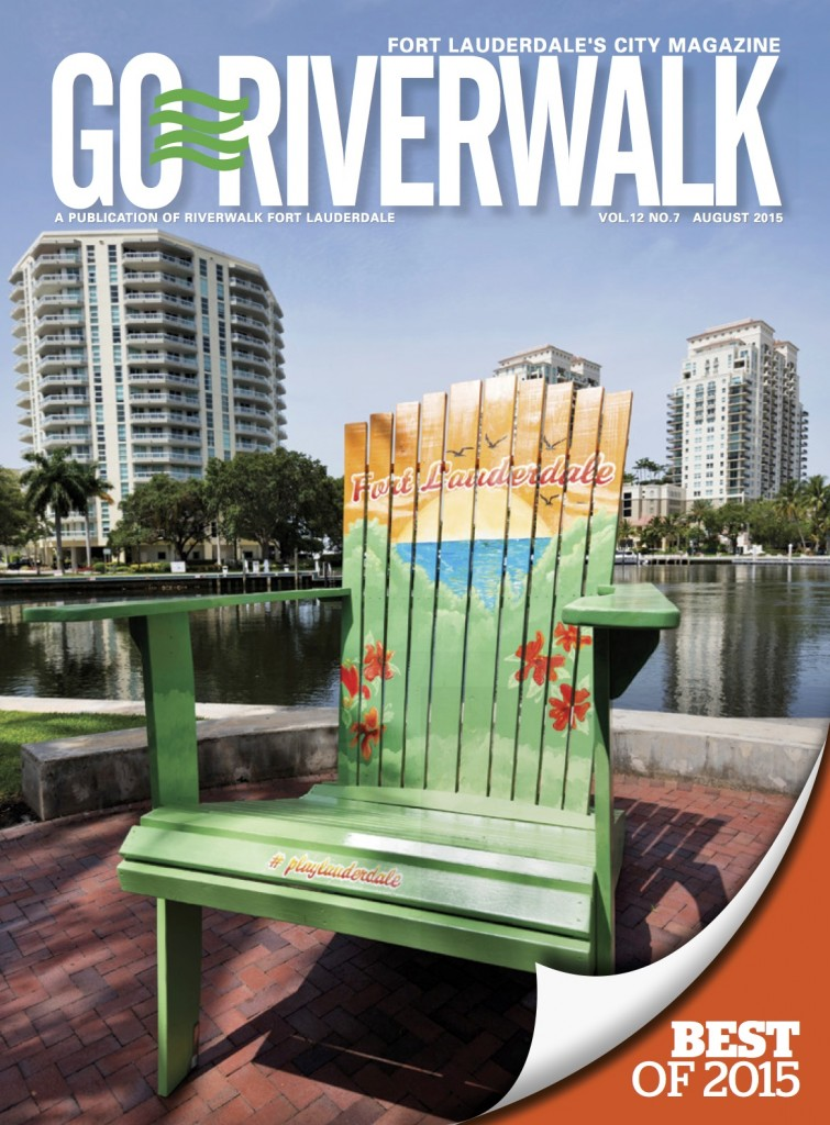 August 2015 Go Riverwalk cover
