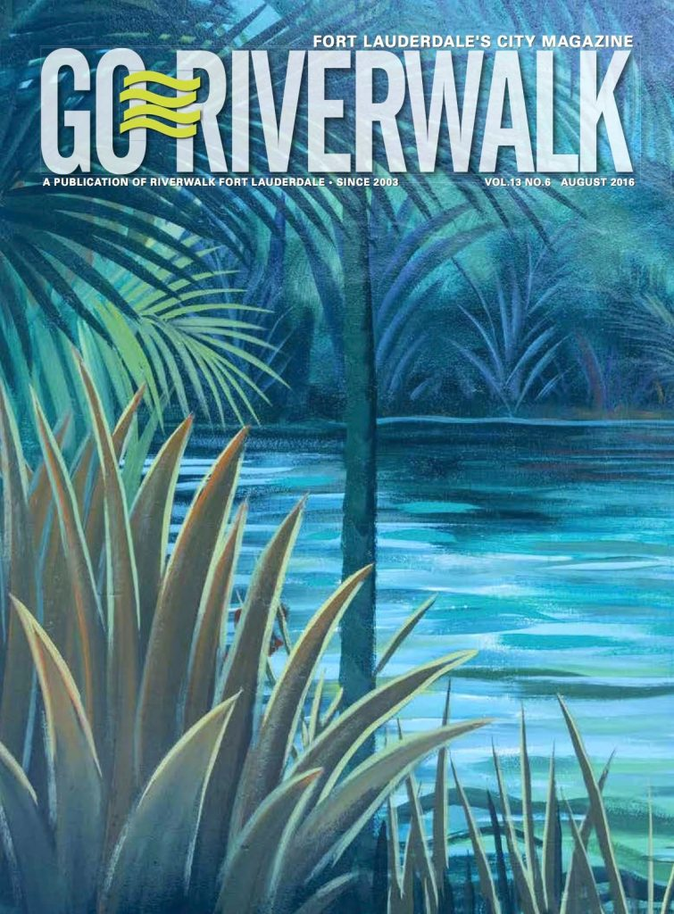 August 2016 Go Riverwalk cover
