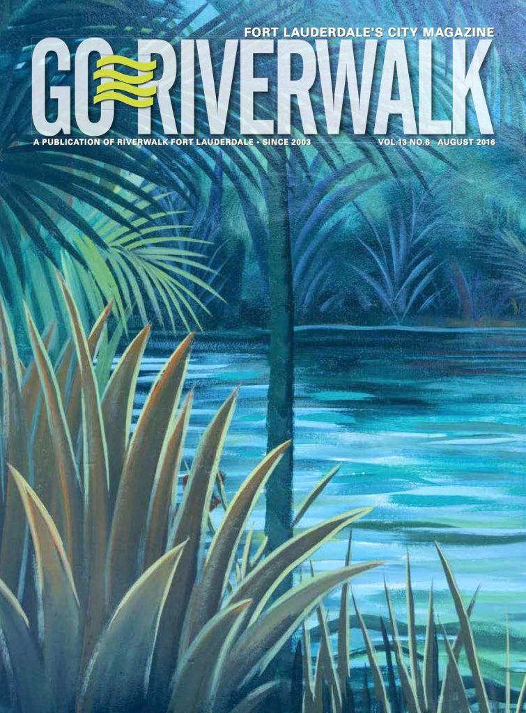 August 2016 Go Riverwalk cover