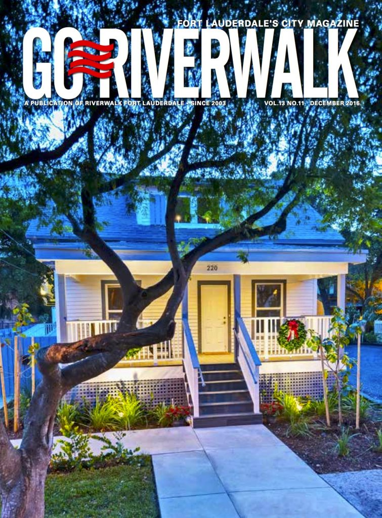 December 2016 Go Riverwalk cover
