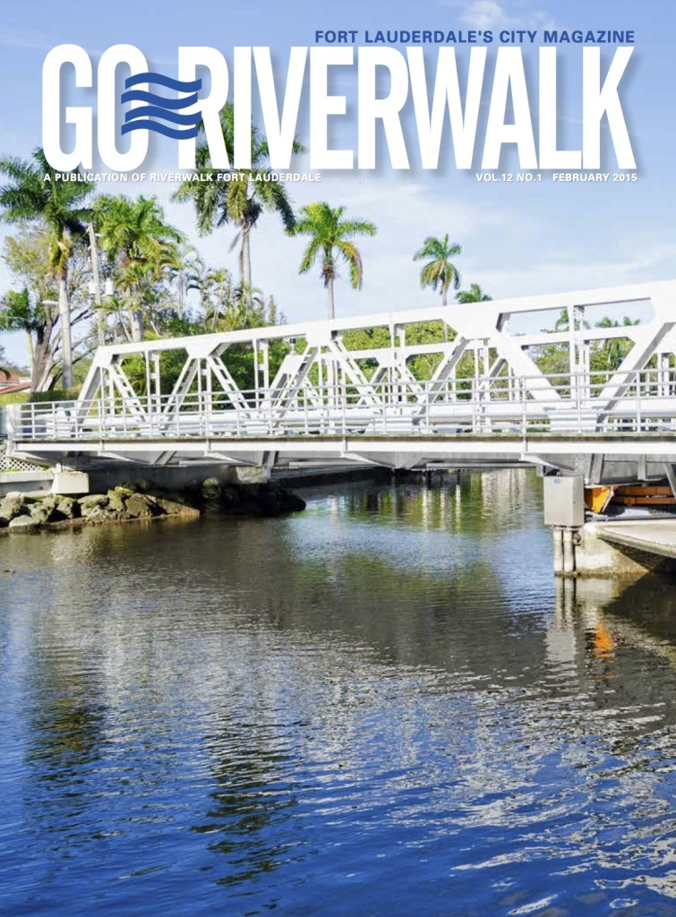 February 2015 Go Riverwalk cover