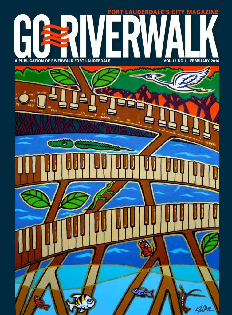 February 2016 Go Riverwalk cover