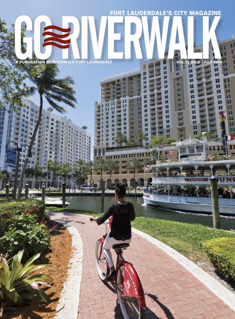 July 2015 Go Riverwalk cover