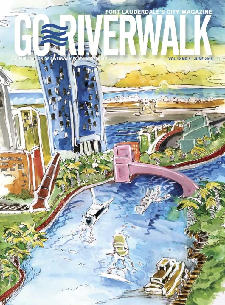 June 2015 Go Riverwalk cover