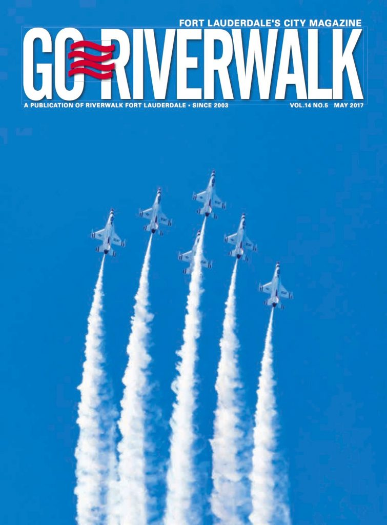 May 2017 Go Riverwalk cover