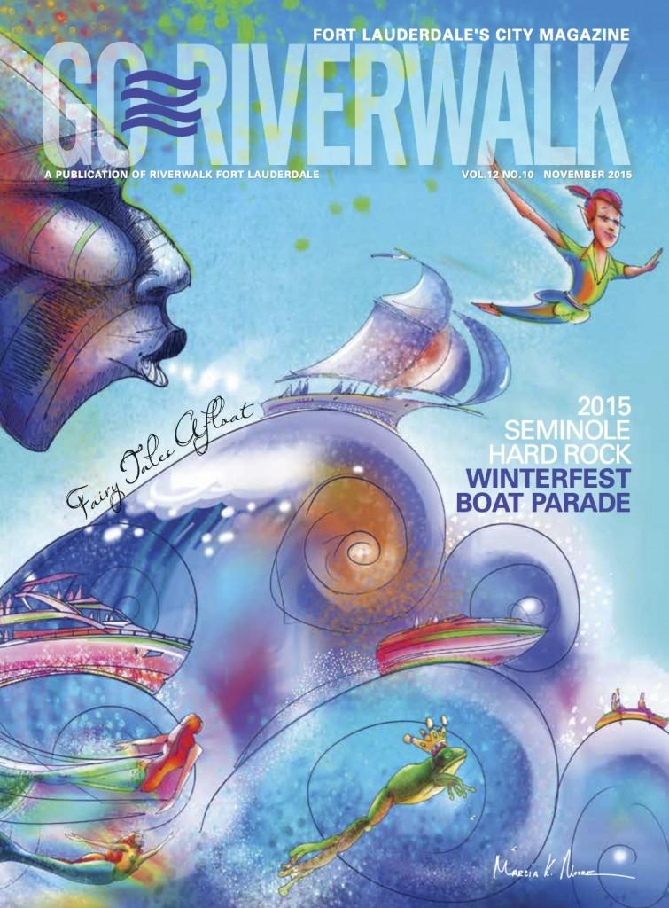November 2015 Go Riverwalk cover