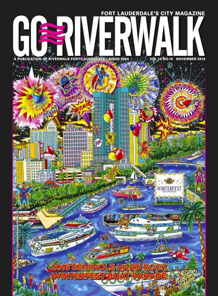 November 2016 Go Riverwalk cover