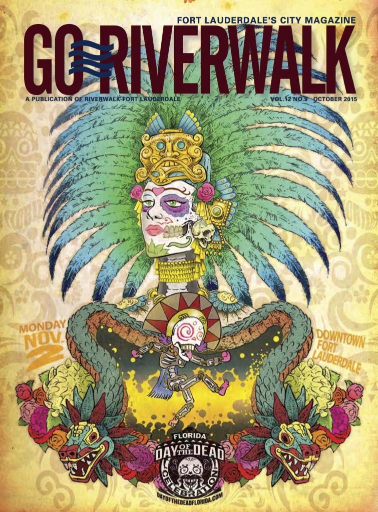 October 2015 Go Riverwalk cover