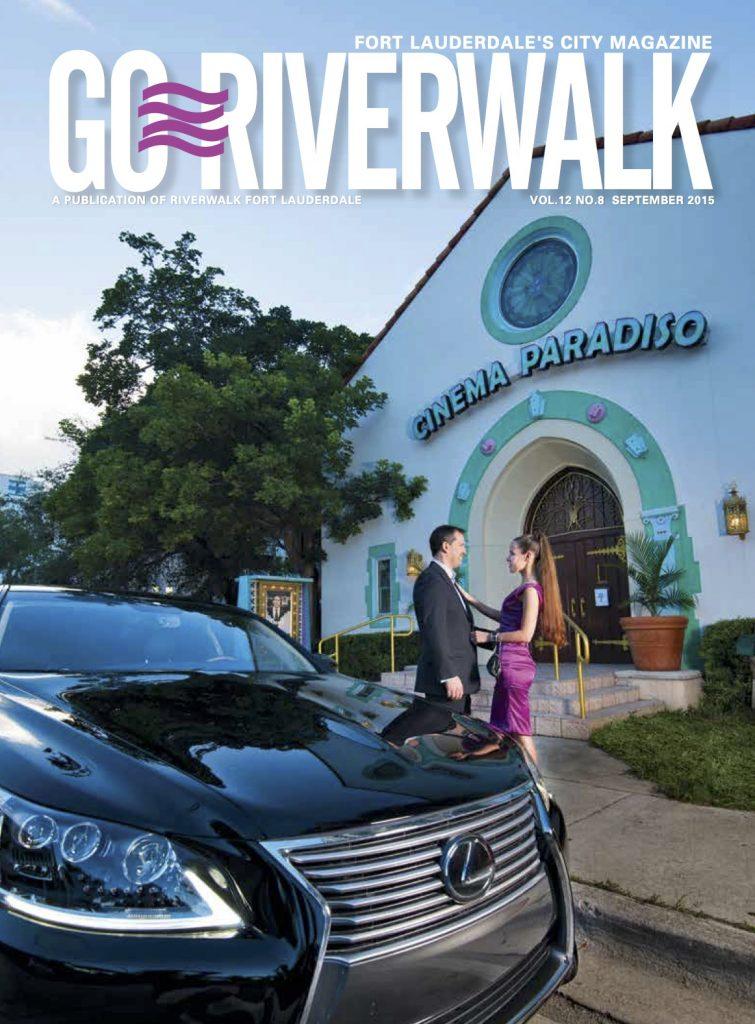 September 2015 Go Riverwalk cover