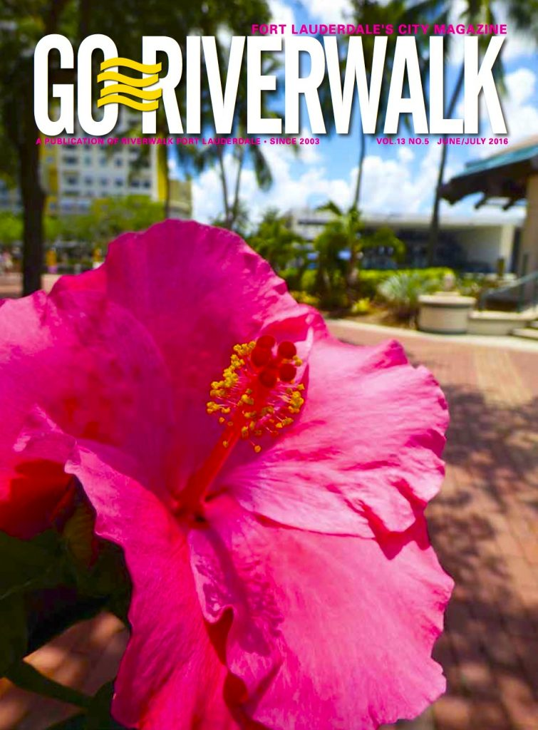 June/July 2016 Go Riverwalk cover