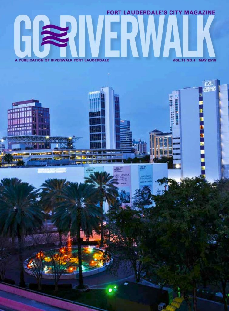 May 2016 Go Riverwalk cover