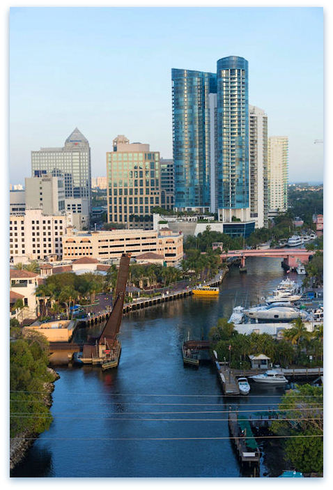 Downtown Fort Lauderdale By Photographer Jason Leidy | Middle River Arts Photography