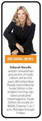 Grand Marshal Deborah Norville