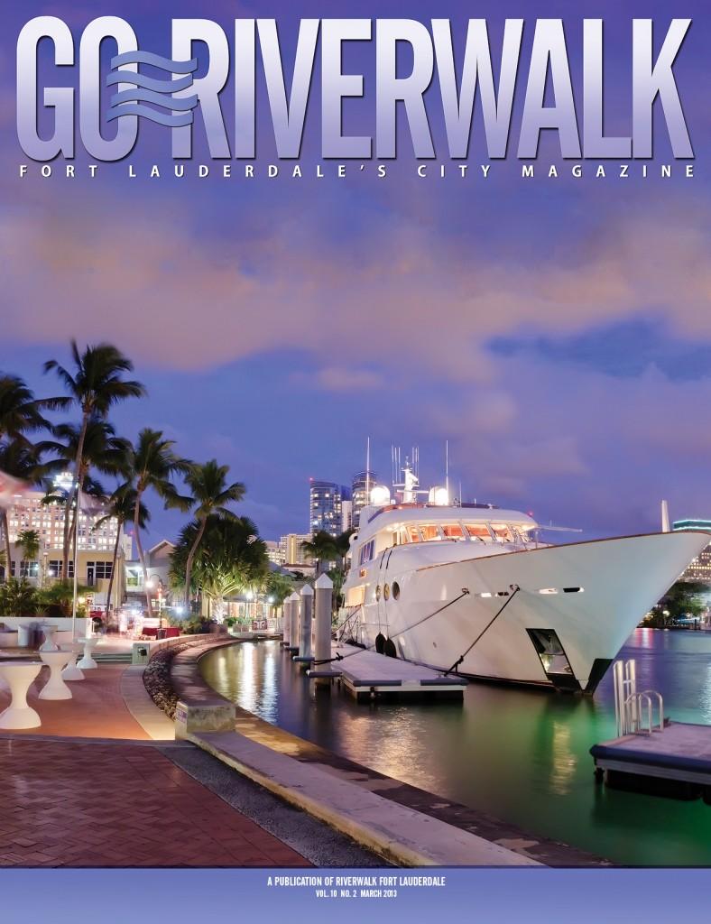 March 2013 Go Riverwalk cover
