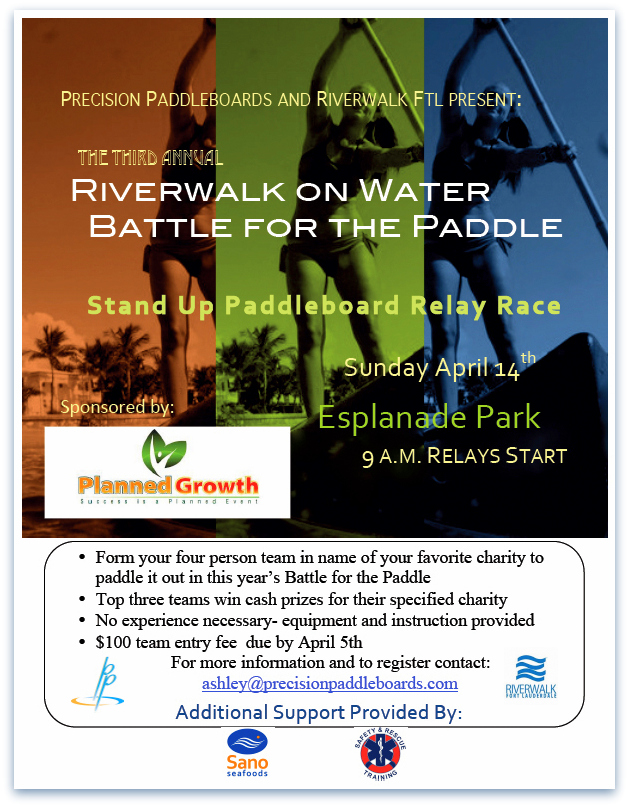 Paddle Event Poster