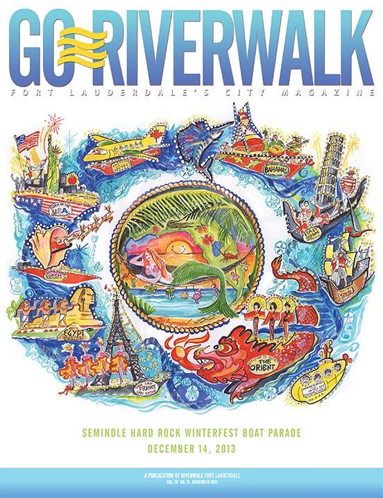Go Riverwalk November 2013 cover