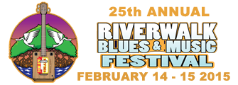 25th Annual Riverwalk Blues and Music Festival