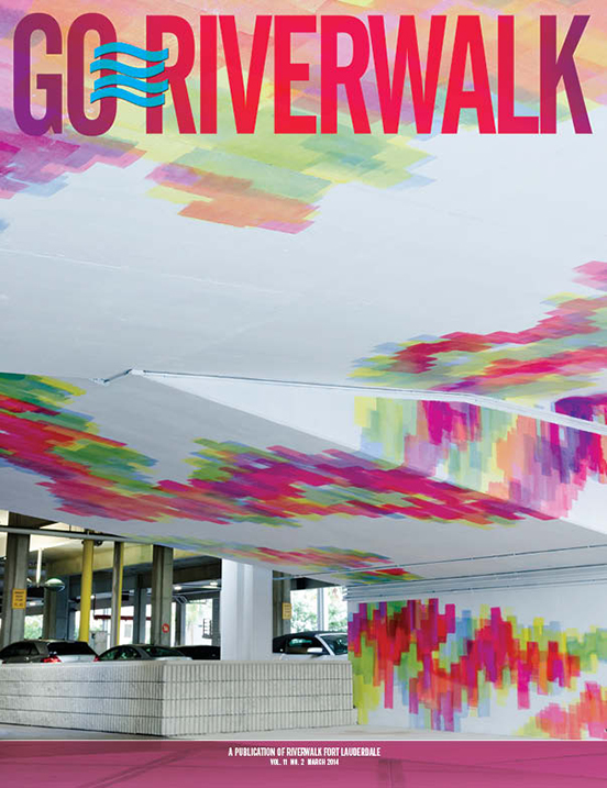March 2014 Go Riverwalk cover