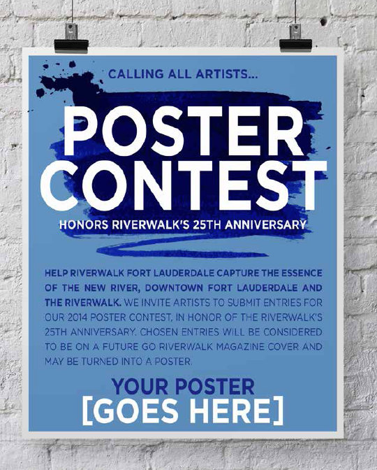 Poster Contest Honors Riverwalk's 25th Anniversary – Riverwalk ...