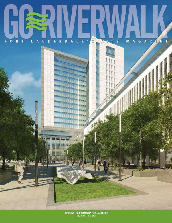 June 2014 Go Riverwalk cover