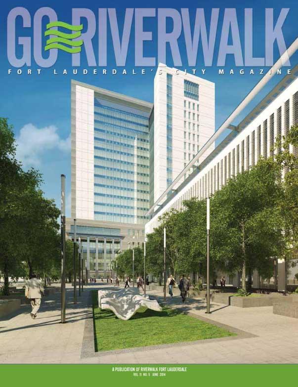 June 2014 Go Riverwalk cover