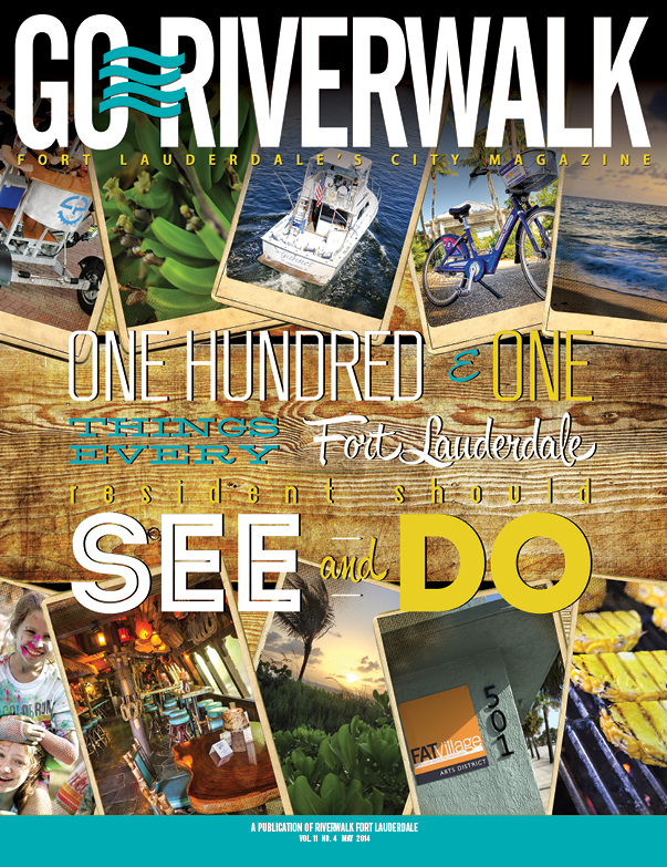 May 2014 Go Riverwalk cover