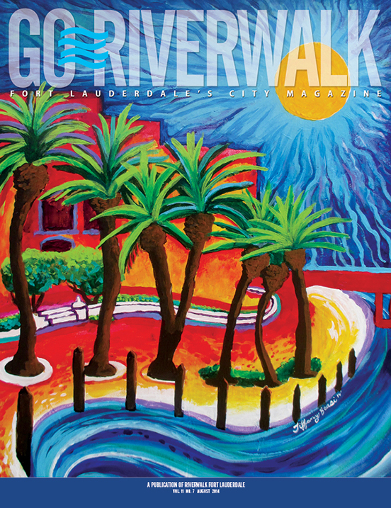 August 2014 Go Riverwalk cover