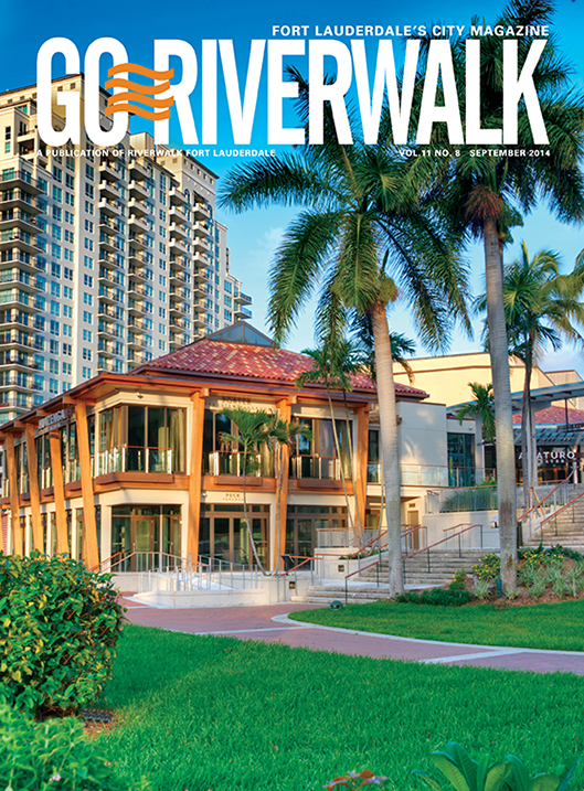 September 2014 Go Riverwalk cover