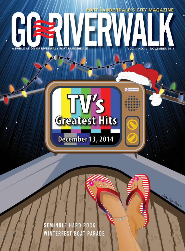 November 2014 Go Riverwalk cover