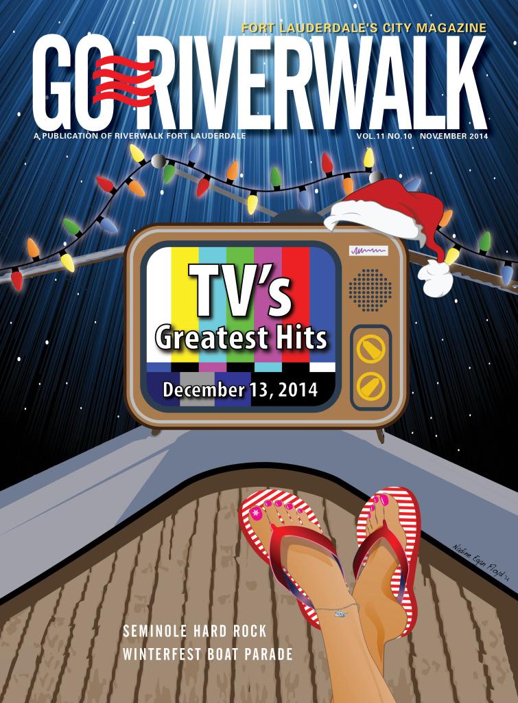 November 2014 Go Riverwalk cover
