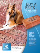 Ad for Riverwalk Bricks