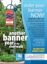 An image of an ad for Riverwalk Fort Lauderdale banners