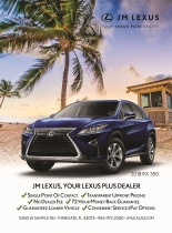 Ad for JM Lexus