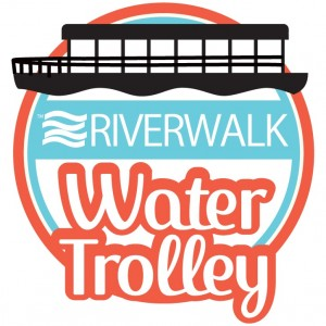 Riverwalk Water Trolley Logo