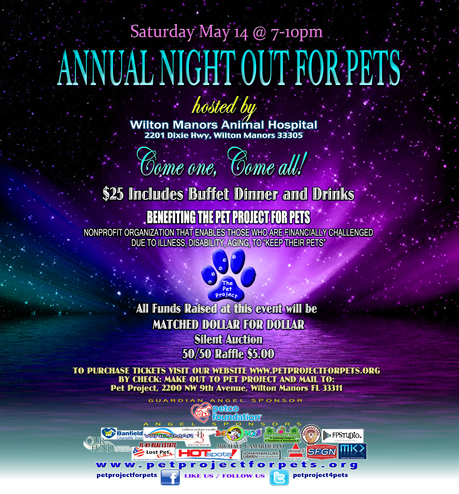 Night out for pets #67E1BD1