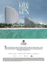 Ad for Auberge Beach Residences & Spa