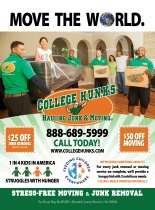 Ad for College Hunks Moving