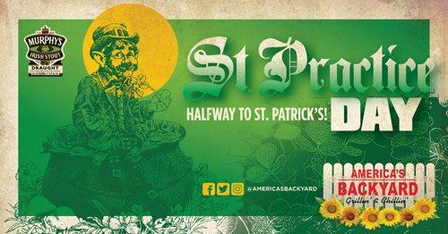 SATURDAY SEPTEMBER 16th Americau0027s Backyard, Y100FM And Murphyu0027s Irish Stout  Present The Best Thing Since St. Patricku0027s Dayu2026.St. Practice Day!