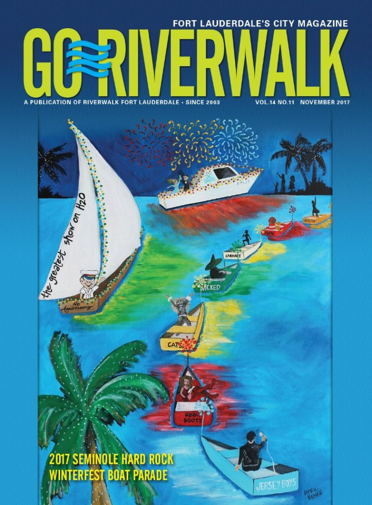 Image of GoRiverwalk Magazine November 2017 Cover