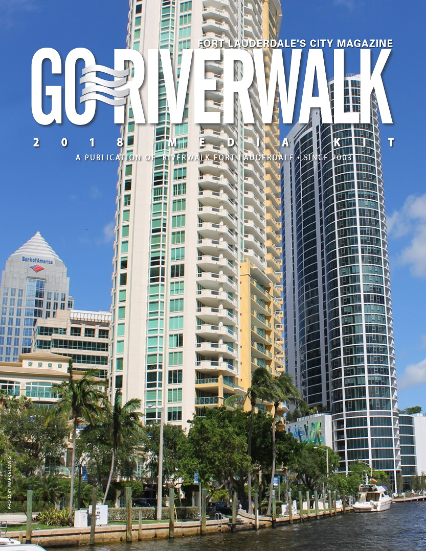 Image of the GoRiverwalk Media Kit 2018 Front Page