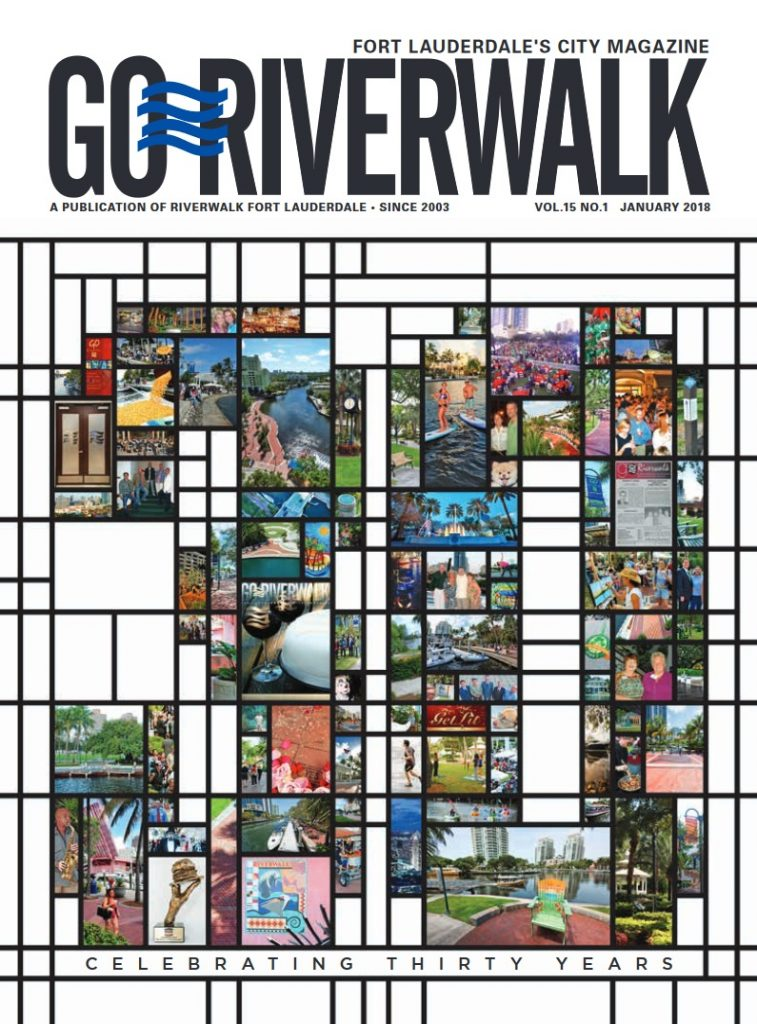 Image of the GoRiverwalk January 2018 Cover