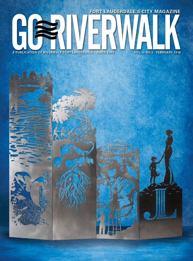 Image of GoRiverwalk Magazine February 2018 Cover