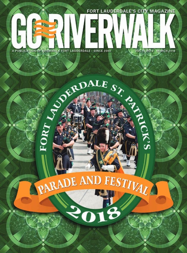 Image of the GoRiverwalk March 2018 Magazine Cover