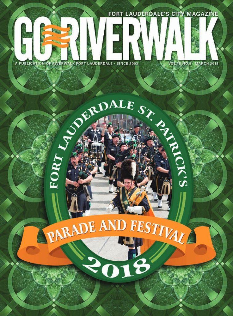 Image of the GoRiverwalk March 2018 Magazine Cover