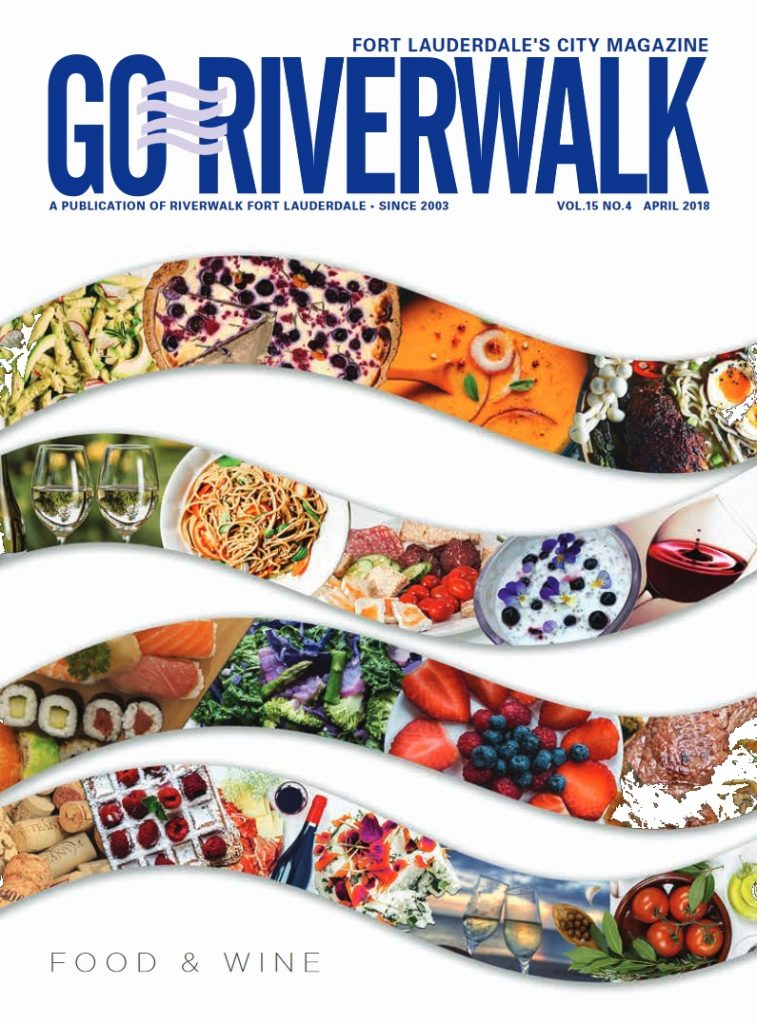 Image of the GoRiverwalk Magazine April 2018 Cover