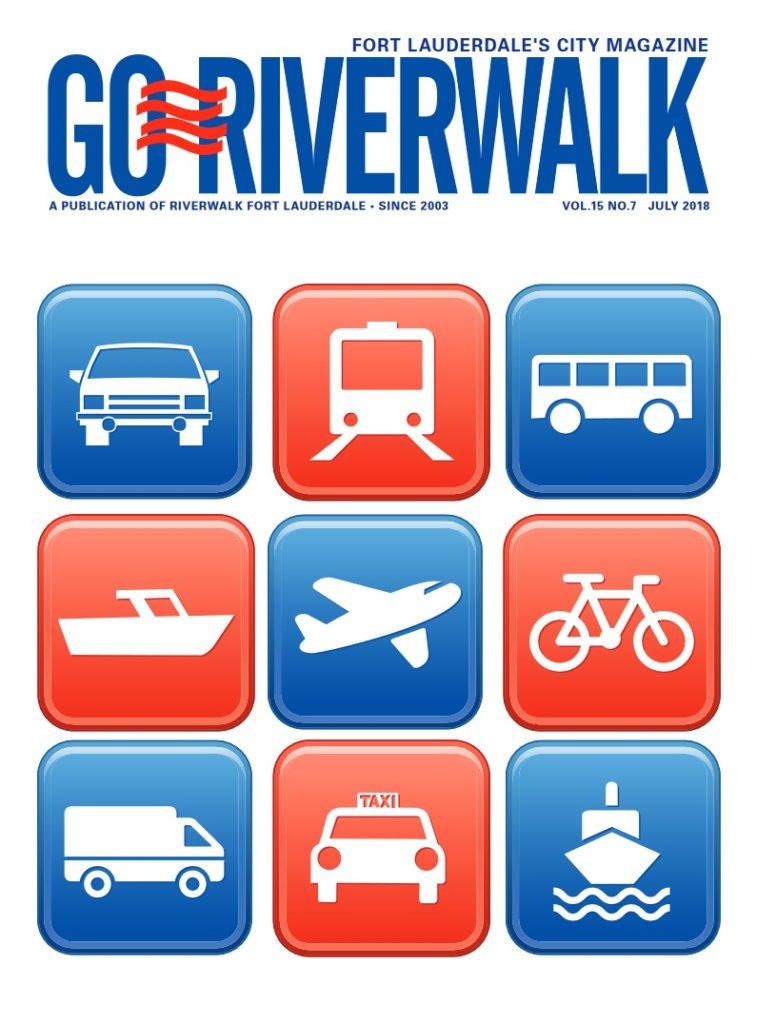 Image of the GoRiverwalk Magazine Cover July 2018