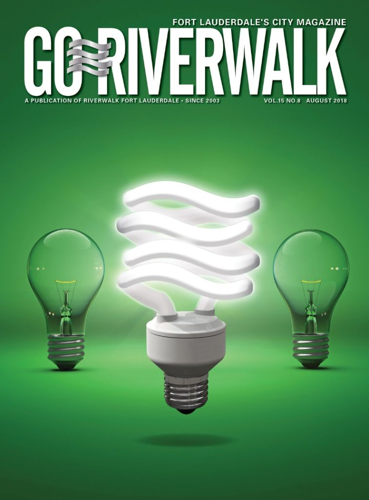 Image of the GoRiverwalk August 2018 Magazine cover