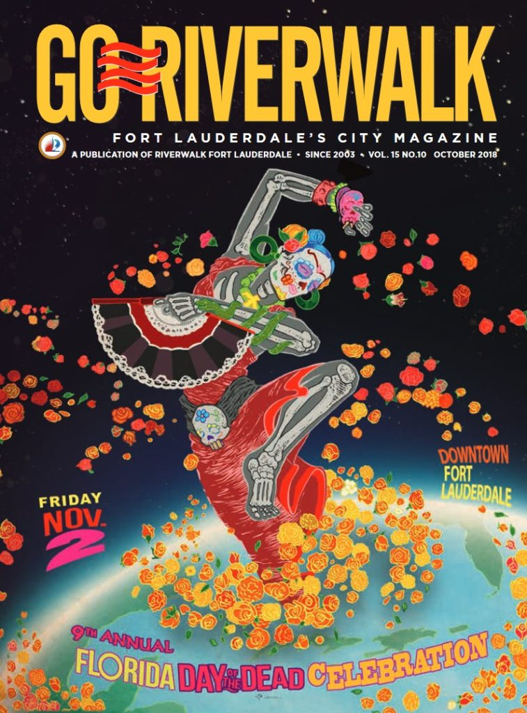 Image of the GoRiverwalk October 2018 Cover
