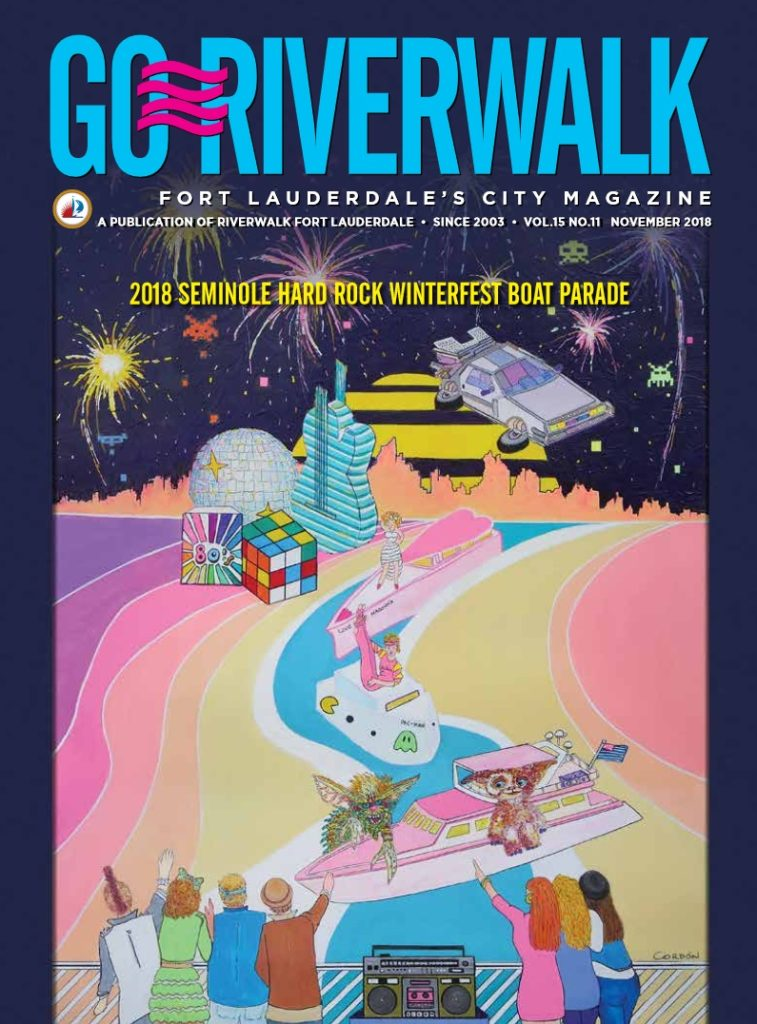 Image of the GoRiverwalk Magazine November 2018 Cover